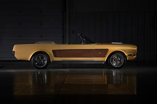 Slide 4 of 26: sonny-cher-ford-mustang-side-brown.jpg