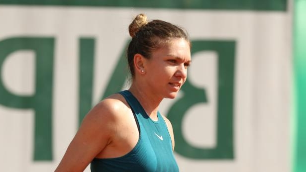 simonahalep - cropped: French Open top seed Simona Halep