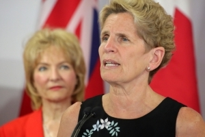 Wynne slams Horwath's response to steel tariffs, pledges a package for workers