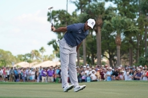 Can Tiger Woods win Jack Nicklaus' the Memorial Tournament? Follow his final round shot-by-shot