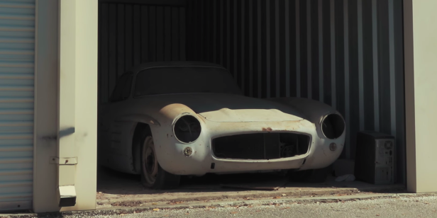This Gullwing is the 43rd example built. It hasn't run in over 60 years. It's worth almost seven figures.: Abandoned 300SL Gullwing Barn Find Is Worth $1M