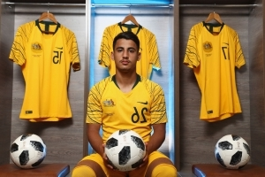 'Capable of anything': Socceroos 'wonder kid' ready for World Cup