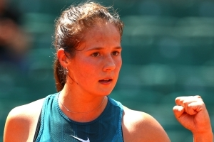 Enjoy your stay! Kasatkina on the move after win over Wozniacki