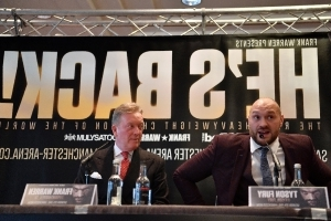 Former world champion Fury back in love with boxing