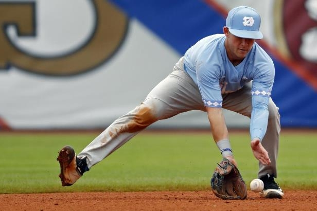 The Blue Jays drafted North Carolina shortstop Logan Warmoth at No. 22 last June. He's the fifth-best prospect in the organization according to MLB Pipeline.