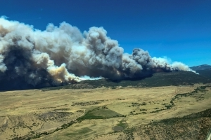 Crews gain ground on New Mexico wildfire as Colorado blaze rages