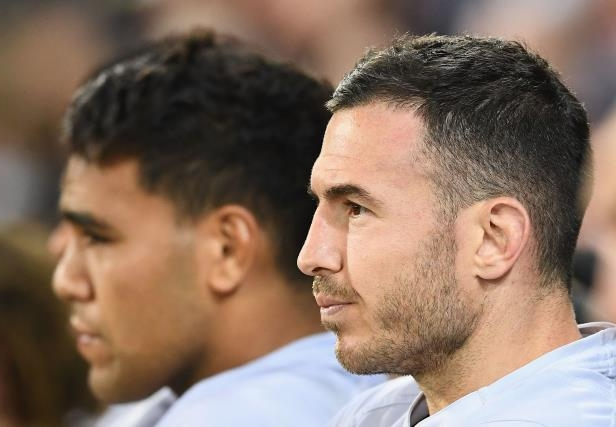 Darius Boyd of the Broncos looks on during NRL Preliminary Final match in Melbourne, Australia.