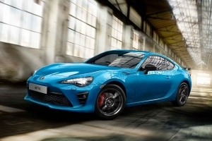 One Love: Toyota GT86 Blue Edition revealed