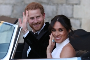 Harry and Meghan Tipped To Overshadow Queen's Birthday
