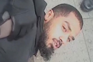 Bodycam footage shows terror suspect's arrest