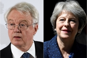 PM averts Brexit crisis after Davis quit talk
