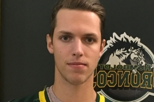 Xavier Labelle, Humboldt Bronco seriously injured in bus crash, out of hospital and on his feet
