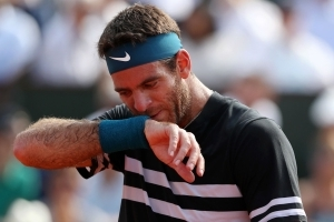 Del Potro 'relaxed' despite failing to take his chances against Nadal
