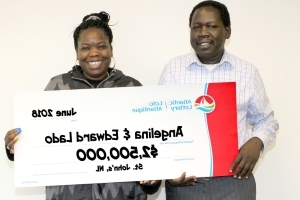 $2.5M lotto win will help couple find mother in refugee camp