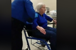 Video of TSA agents searching elderly woman sparks outrage