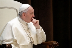 Pope to oil execs: Energy needs mustn't destroy civilization