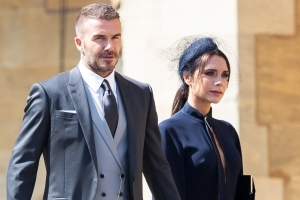 PR worker 'is suspended for spreading false gossip about David and Victoria Beckham' after her private email was posted online and shared as divorce rumours spread