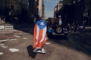 Puerto Rican Day Parade show post-hurricane pride