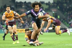 Storm roll Brisbane with big second half
