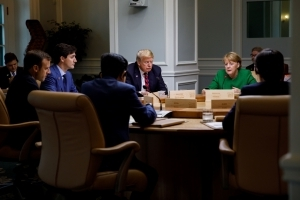 Trump BACKS OUT of G7 agreement: President stuns leaders by leaving summit and then announcing on Twitter that America WILL NOT 'endorse the Communique' - before slamming 'dishonest and weak' Trudeau