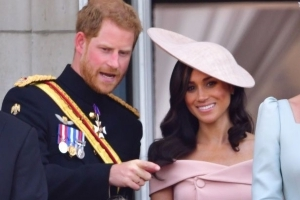 A Lip Reader Reveals What Meghan Markle and Prince Harry Were Talking About at Trooping the Colour!