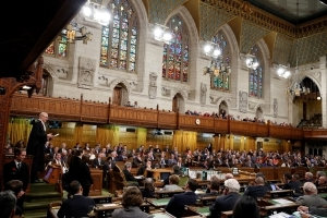Canada parliament condemns U.S. attack on Trudeau, country simmers