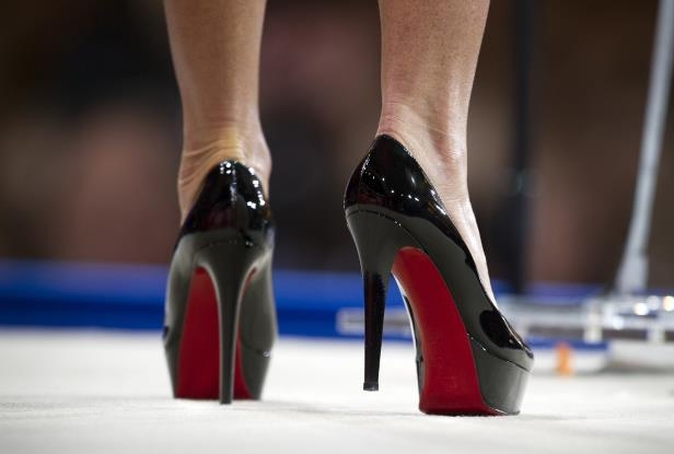 87abf1b3fbe Style: Designer Louboutin wins case on red soled high-heels ...