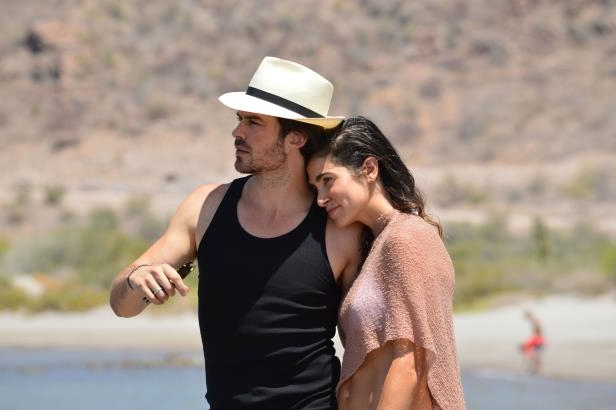 Slide 1 of 67: Nikki Reed and Ian Somerhalder cuddle up along the beach at Villa Del Palmar at the Islands of Loreto on June 3, 2018.