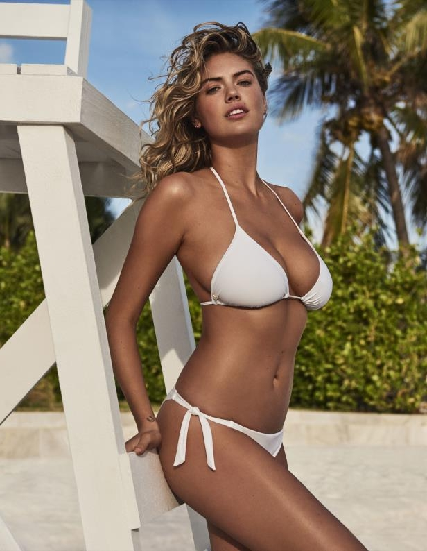Slide 4 of 67: Kate Upton modeled a bikini from the new Yamamay Summer Collection in Miami on April 24.