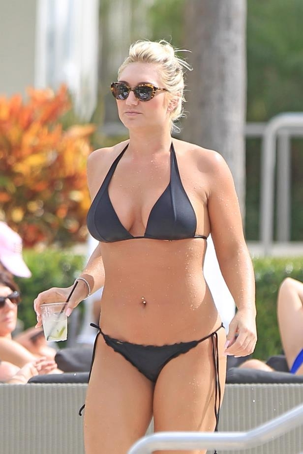 Slide 64 of 67: Brooke Hogan relaxed at the pool at the SLS South Beach Hotel in Miami on Jan. 8.