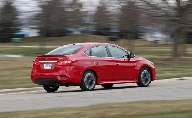 a close up of a car: Nissan Sentra SR Turbo Tested: A Sentra Intelligence Dossier