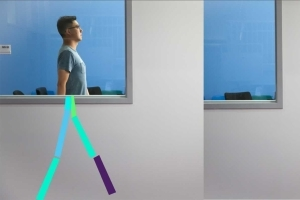 AI detects movement through walls using wireless signals