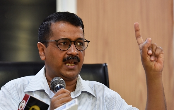 Delhi CM Arvind Kejriwal refuses to leave L-G office