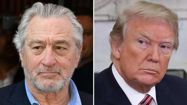 Donald Trump, Robert De Niro are posing for a picture