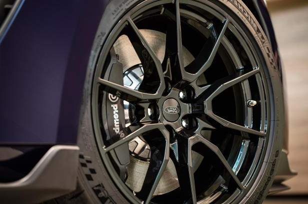 Slide 4 of 4: 2019-Ford-Mustang-Shelby-GT350-front-wheel.jpg
