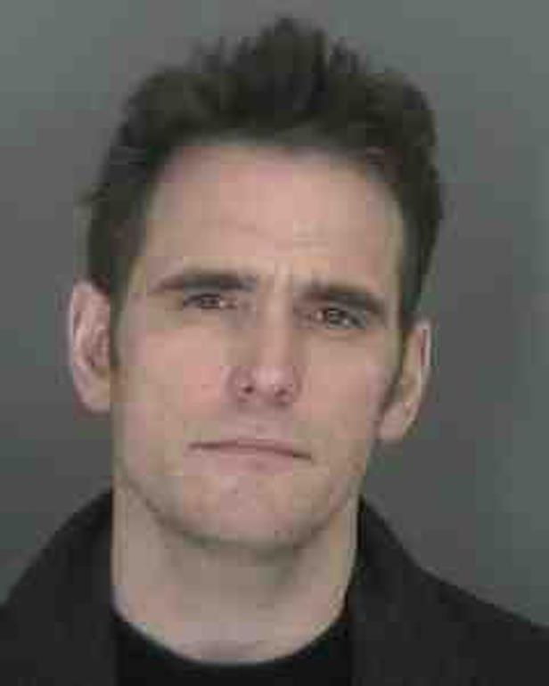 Slide 53 of 59: In 2008, Matt Dillon was arrested for excessive speeding for driving 106 mph on an interstate in Vermont... and here is his mug shot.