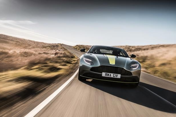 Slide 80 of 90: 2019-Aston-Martin-DB11-AMR-Signature-Edition-front-in-motion-01.jpg
