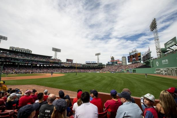 A general view during a game between the Boston Red Sox and the Chicago White Sox on June 10, 2018 at Fenway Park in Boston, Massachusetts.