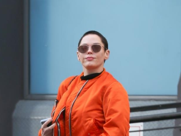 Diapositive 7 sur 9: Exclusif - Rose McGowan à New York le 11 avril 2018.