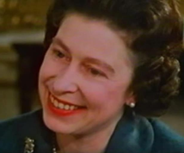 Elizabeth II smiling for the camera: The off-duty Queen: The 1969 documentary, aptly titled Royal Family, shows Her Majesty in a whole new light. Relaxed and with a cheeky sense of humour is how you'll find the Head of State kicking back at home.