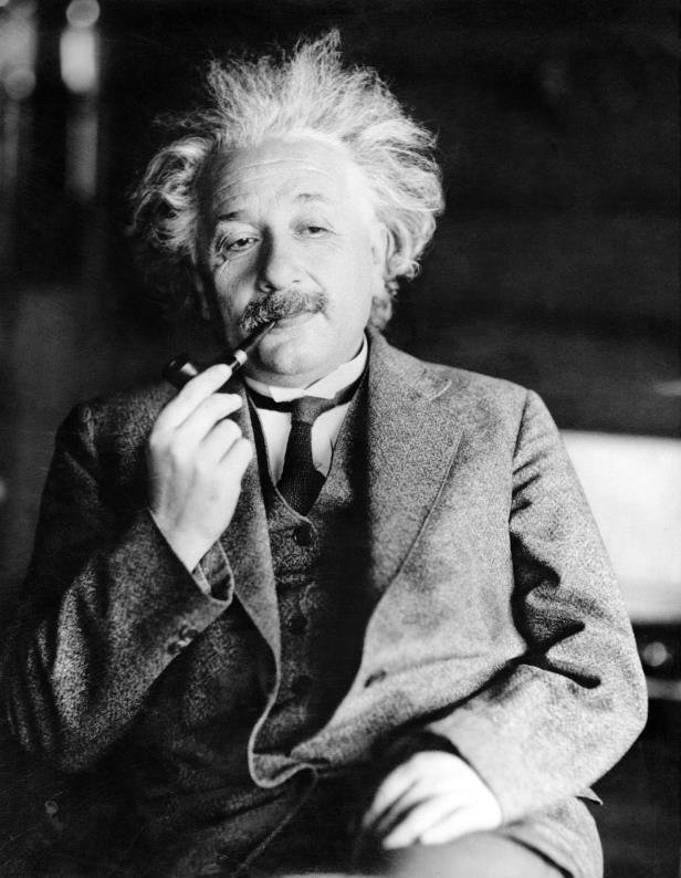 FILE - This undated file photo shows legendary physicist Dr. Albert Einstein
