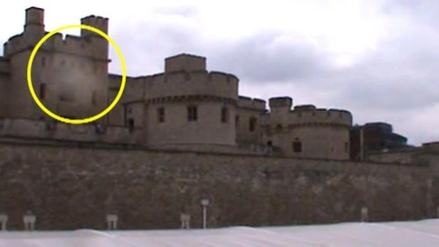 Is This a Ghost Floating Over the Tower of London?