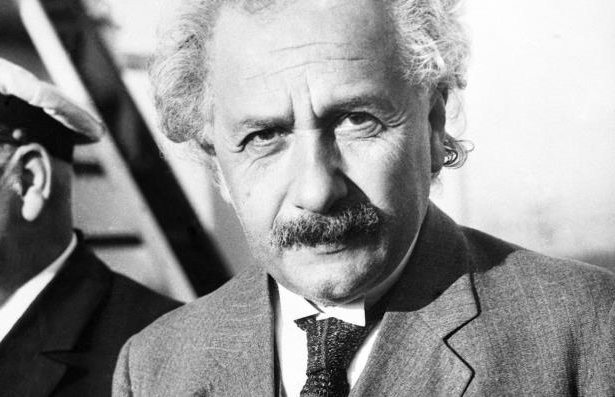 Professor Albert Einstein in 1935.