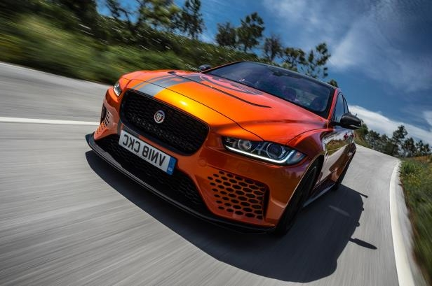 reviews 2019 jaguar xe sv project 8 first drive the 592 hp jag rh pressfrom info