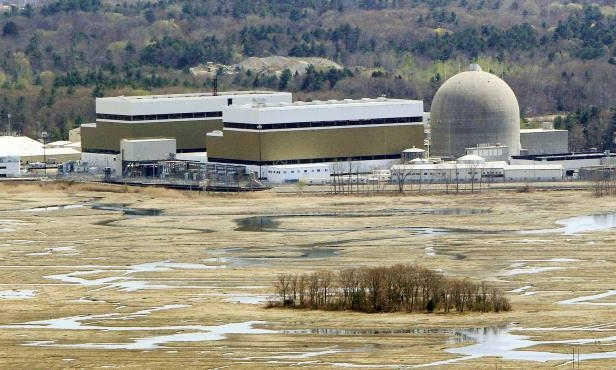 Slide 4 of 16: This May 3, 2011 file photo shows the Seabrook nuclear power plant in Seabrook, N.H. is seen. Seabrook came online in August 1990. It's currently licensed to operate until 2030 and has applied for a 20-year extension.