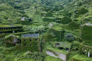You Can Visit This Abandoned, Ivy-Covered Town in China for Just 50 Cents