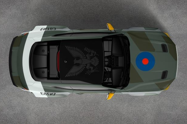 News Ford Eagle Squadron Mustang Gt Honors Fighter Pilots