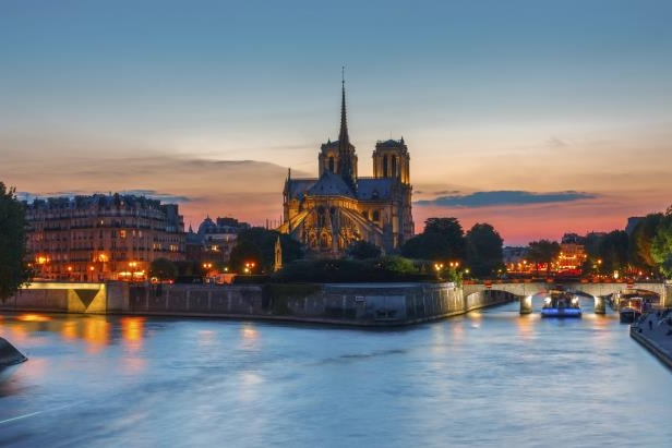 Notre Dame is Paris's most-visited monument.