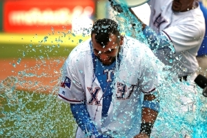 Trevino, Rangers rally for 4 runs in 9th, beat Rockies 13-12