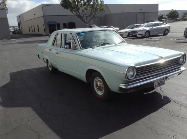 Kurt Cobain's 1965 Dodge Dart to be displayed in Ireland!